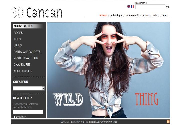 Code de réduction Boutique 30 CanCan
