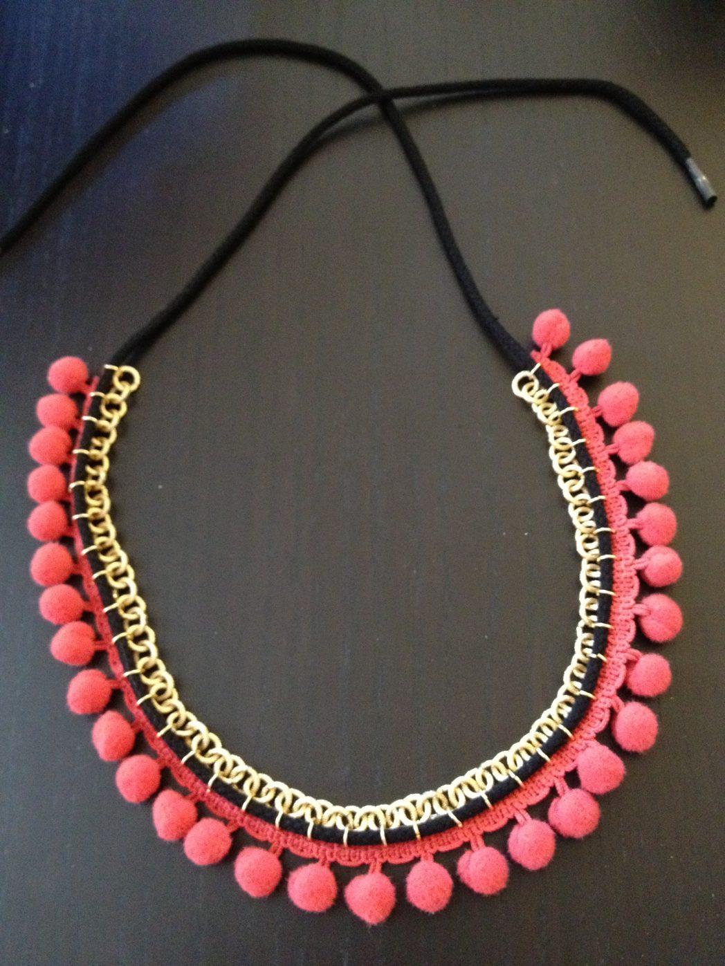 DIY #2 Le collier Pomponette