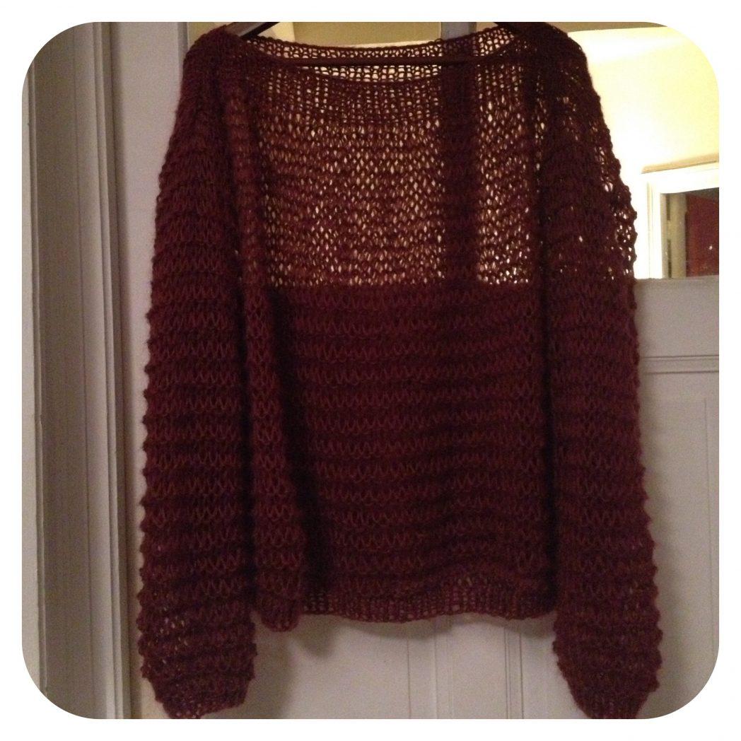 DIY de Juliette #6 le tricot!