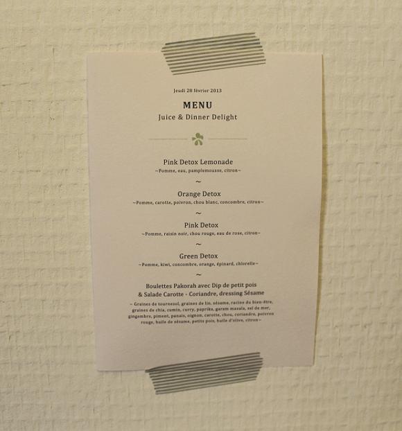 menu detox jour 2
