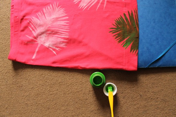 jupe palmier palm tree skirt
