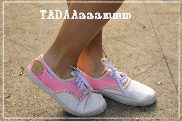 diy chaussure de princesse sirene