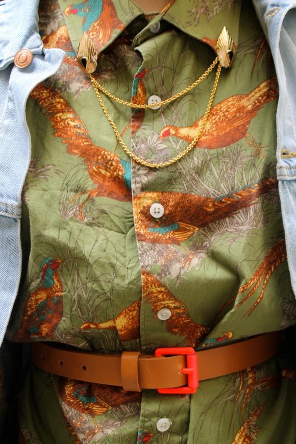 ceinture boucle fluo comptoir des cotonniers