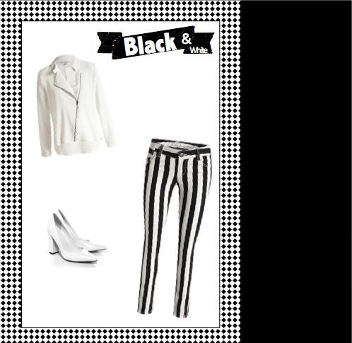 tendance noir et blanc