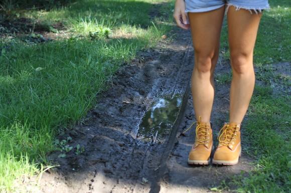 boots jaunes timberland
