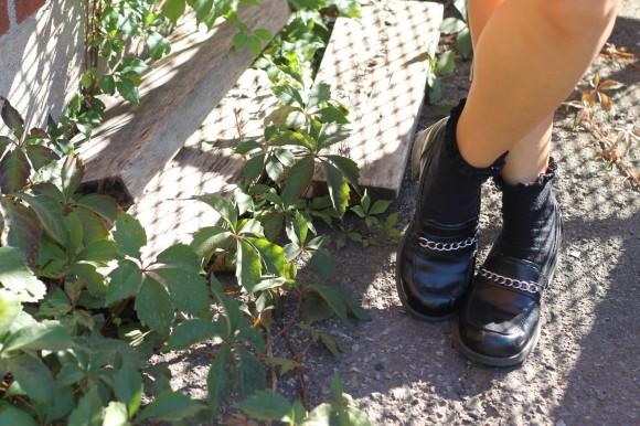 chaussure preppy