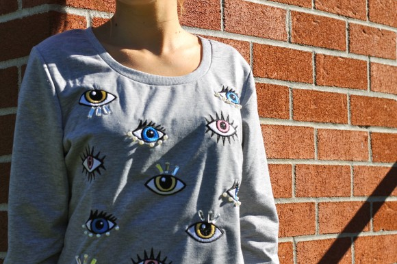 eyes sweater