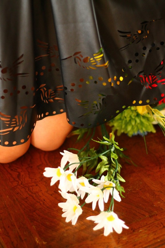 detail colibri robe