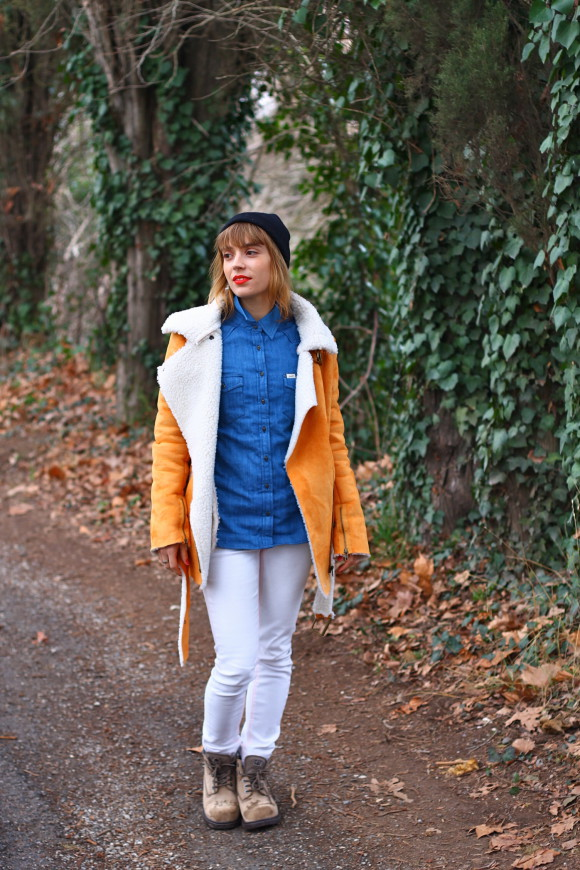 look manteau oversized