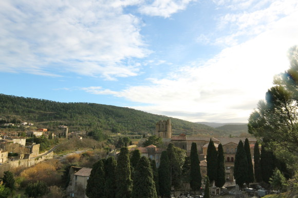 lagrasse paysage photo
