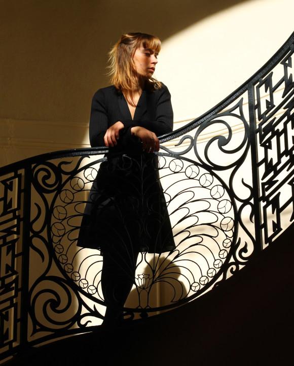 look robe noire inlovewithfashion