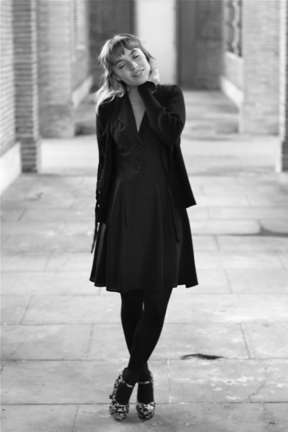 look petite robe noire