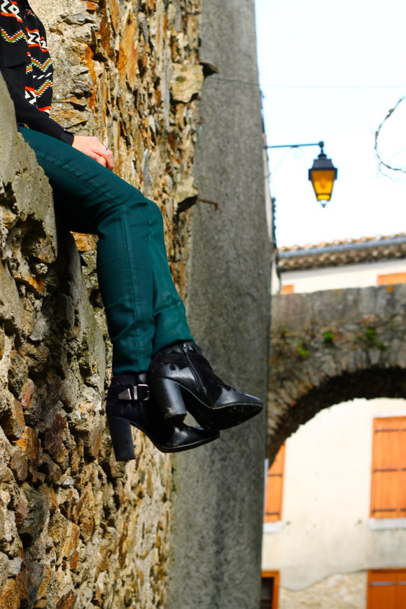 chaussure bottines bouts pointus