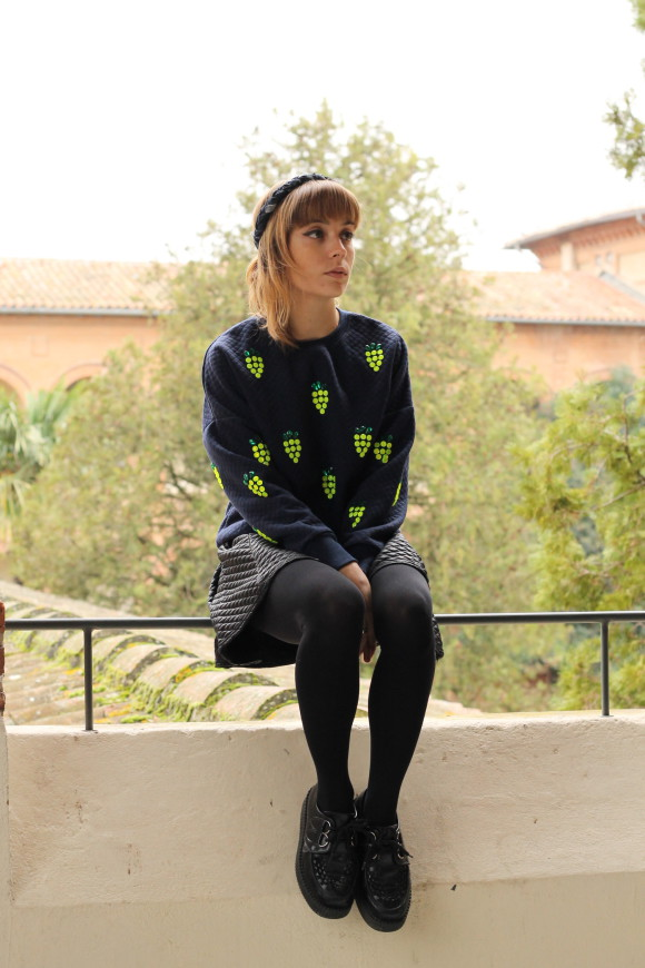 look creepers et ananas
