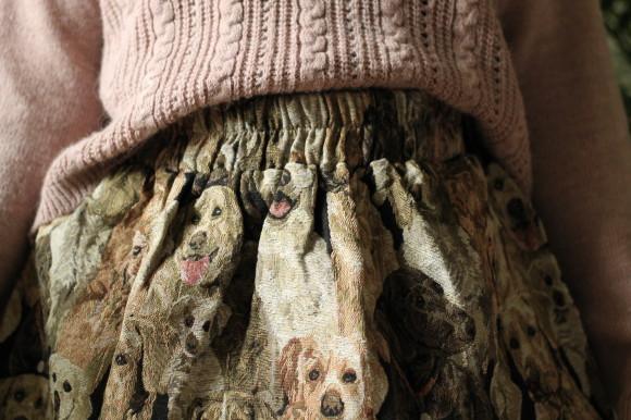 jupe chien