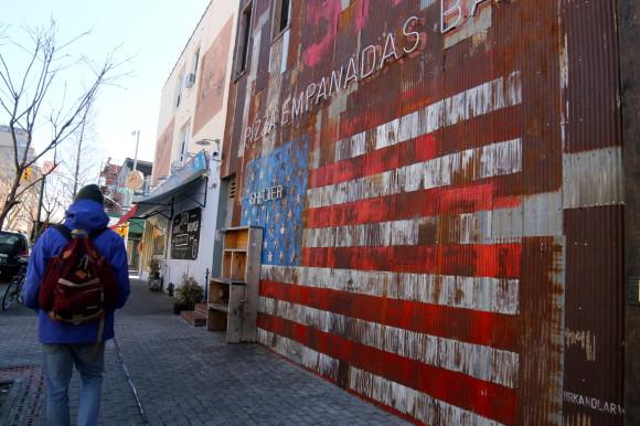 New york Williamsburg art de rue