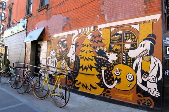 New york Williamsburg graffiti