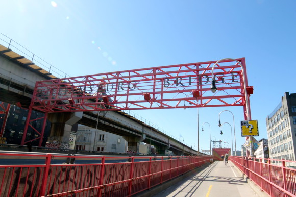 New york Williamsburg pont de brooklyn