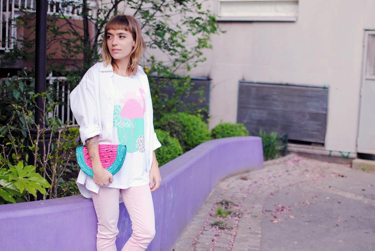 blog mode paris look rose