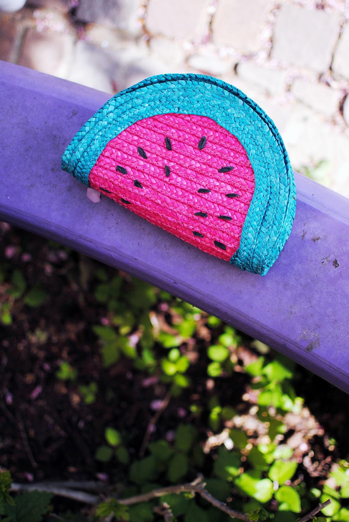 sac à main pastèque