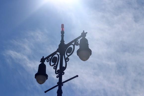 lampadaire coney island