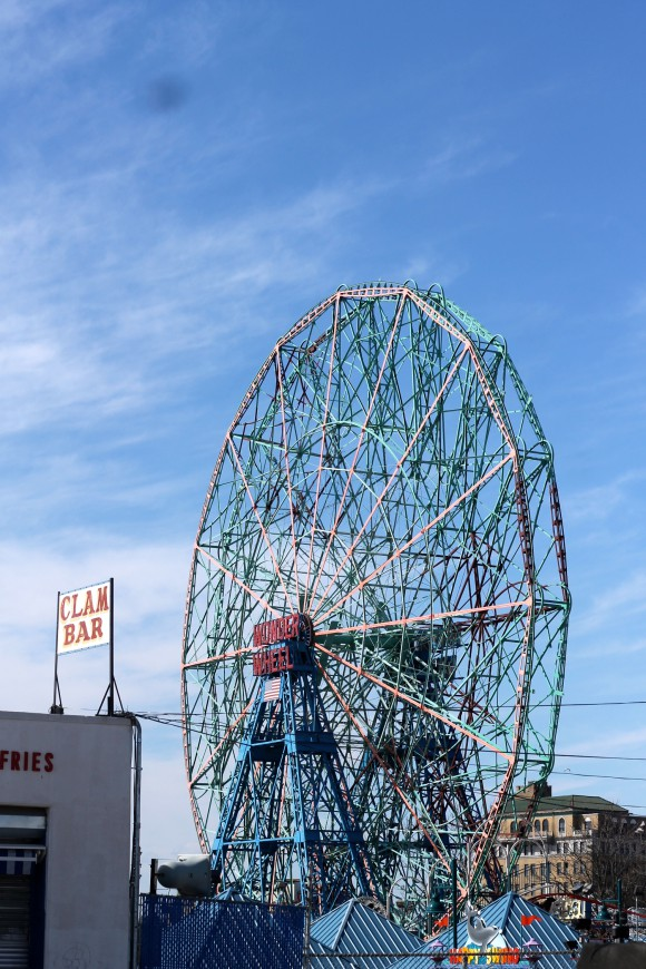 la roue coney island