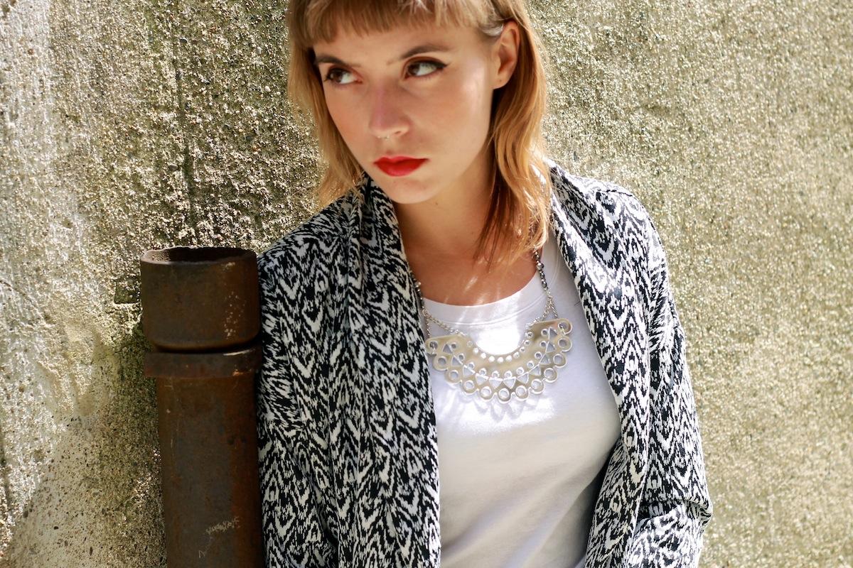 blog mode look slim et veste longue