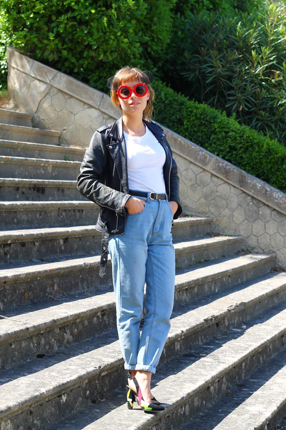 Blog mode femme look escarpin arty