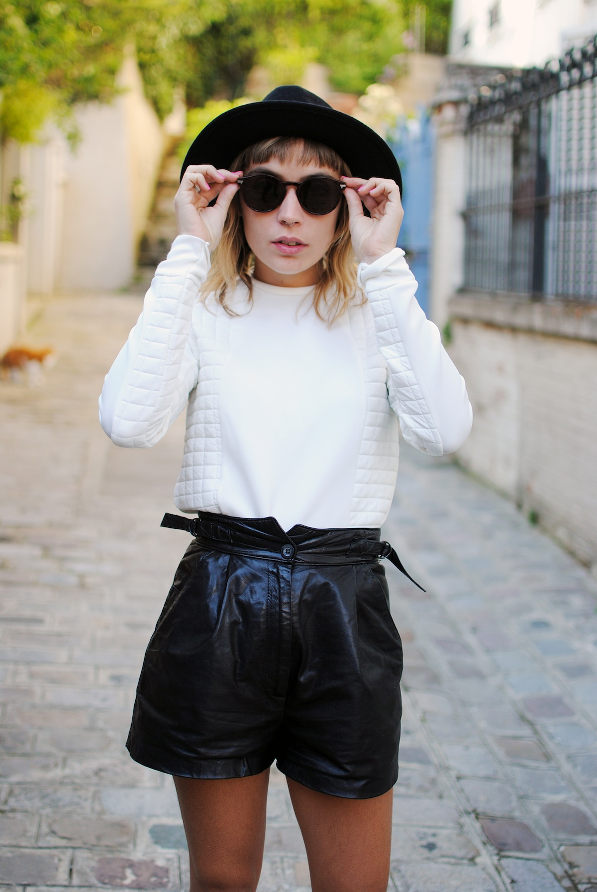blog mode paris look fedora