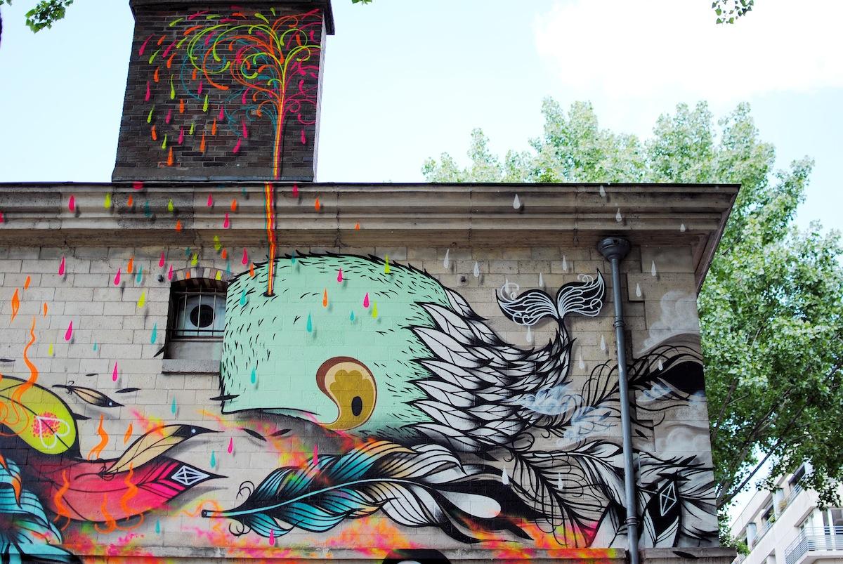 Espace converse fresque supakitch