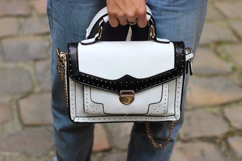 blog mode paris look sac cartable blanc