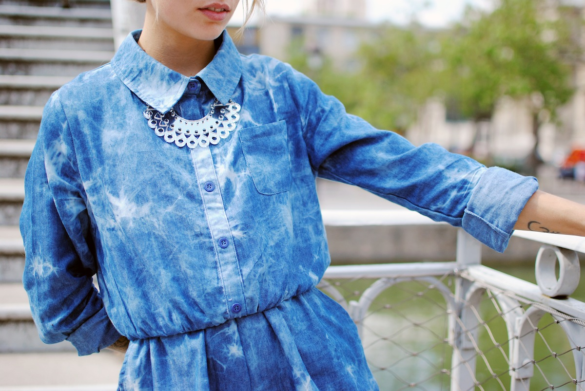 blog mode paris look combi et converse tie dye