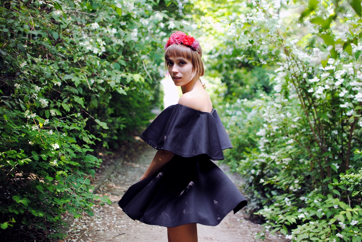 Blog mode look pochette pastèque