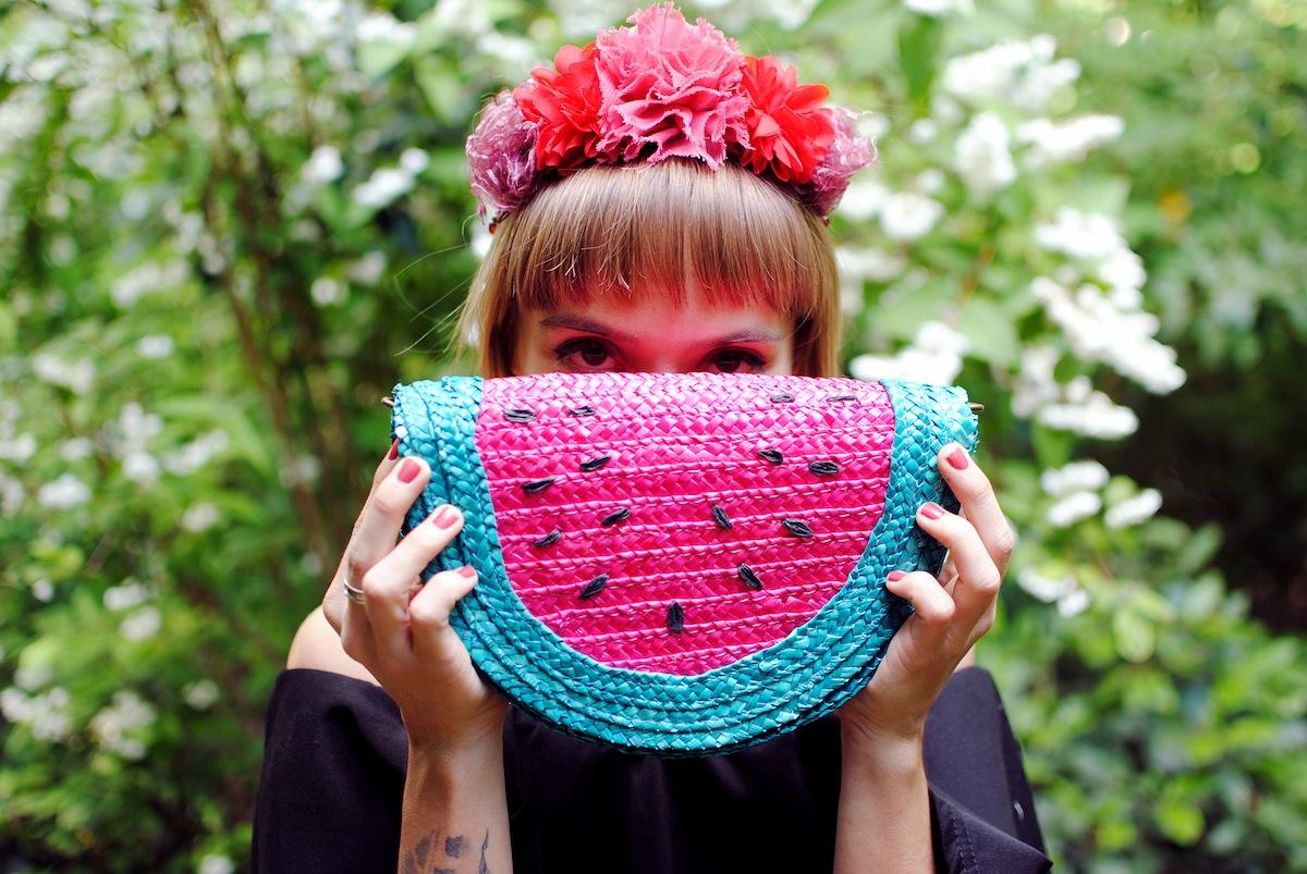 Blog mode look sac pastèque