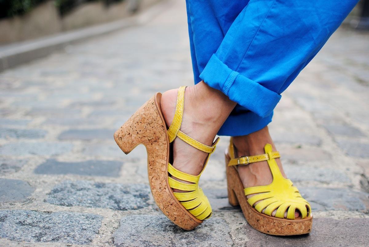 sandale melissa jaune kjacques