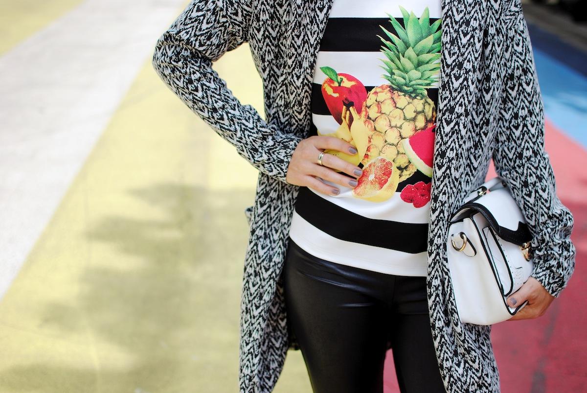 blog mode paris look noir et blanc