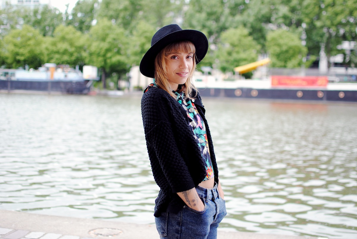 blog mode paris look tropical perroquet