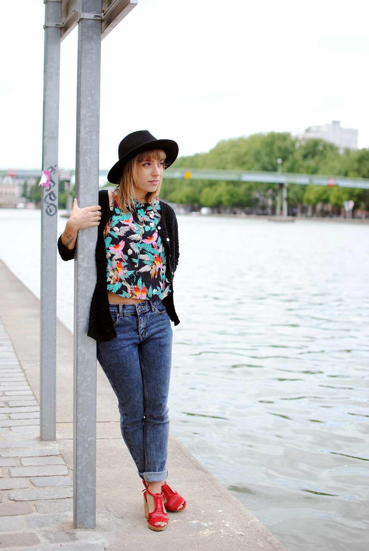 blog mode paris look tropical