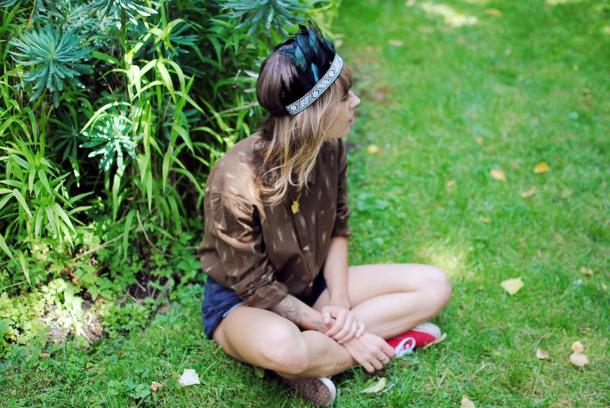 Blog mode paris look collier flèche dorée