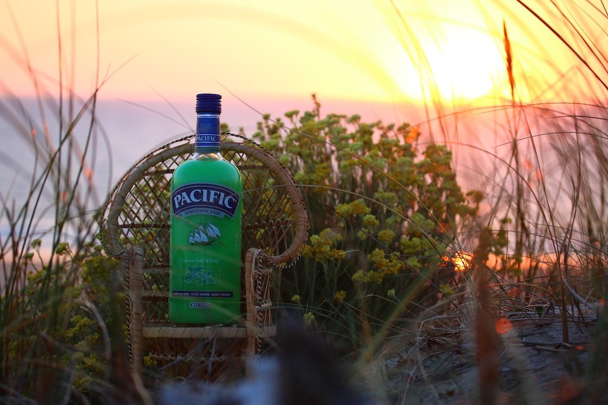 Bouteille Pacific à la menthe