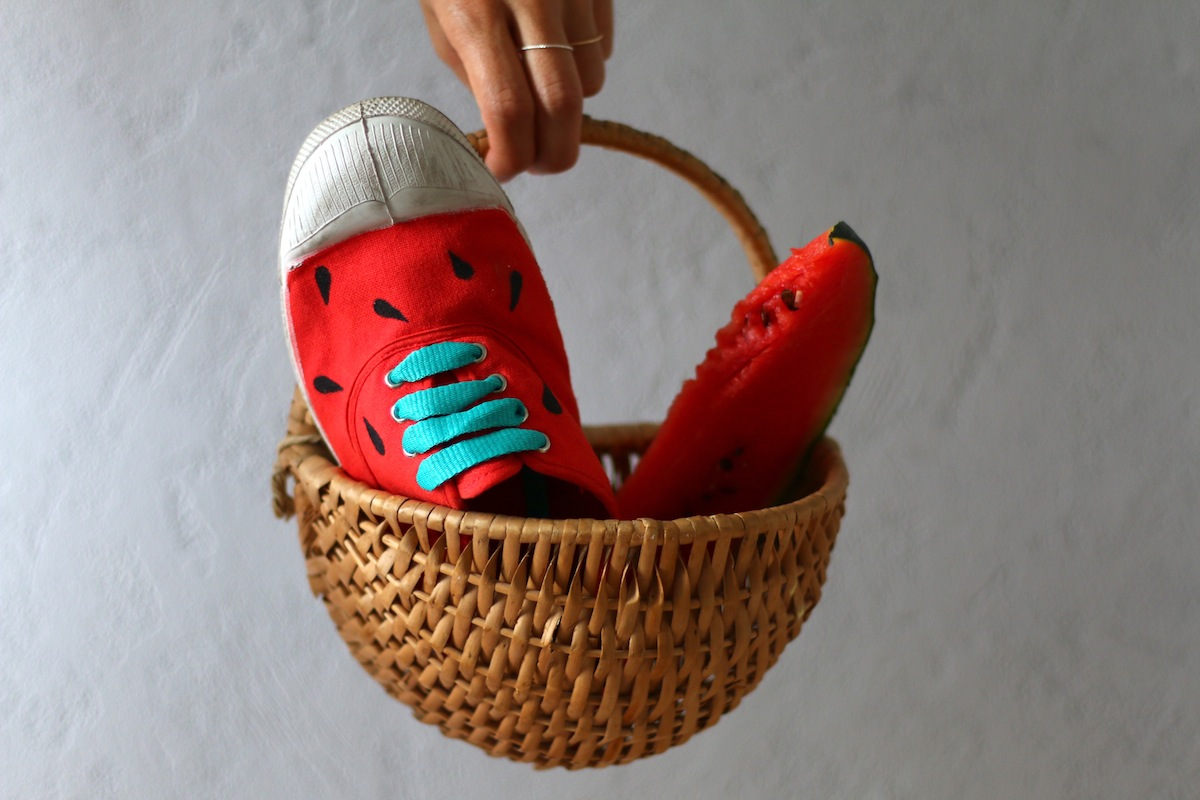 diy 17 les chaussures past que sp4nk blog. Black Bedroom Furniture Sets. Home Design Ideas