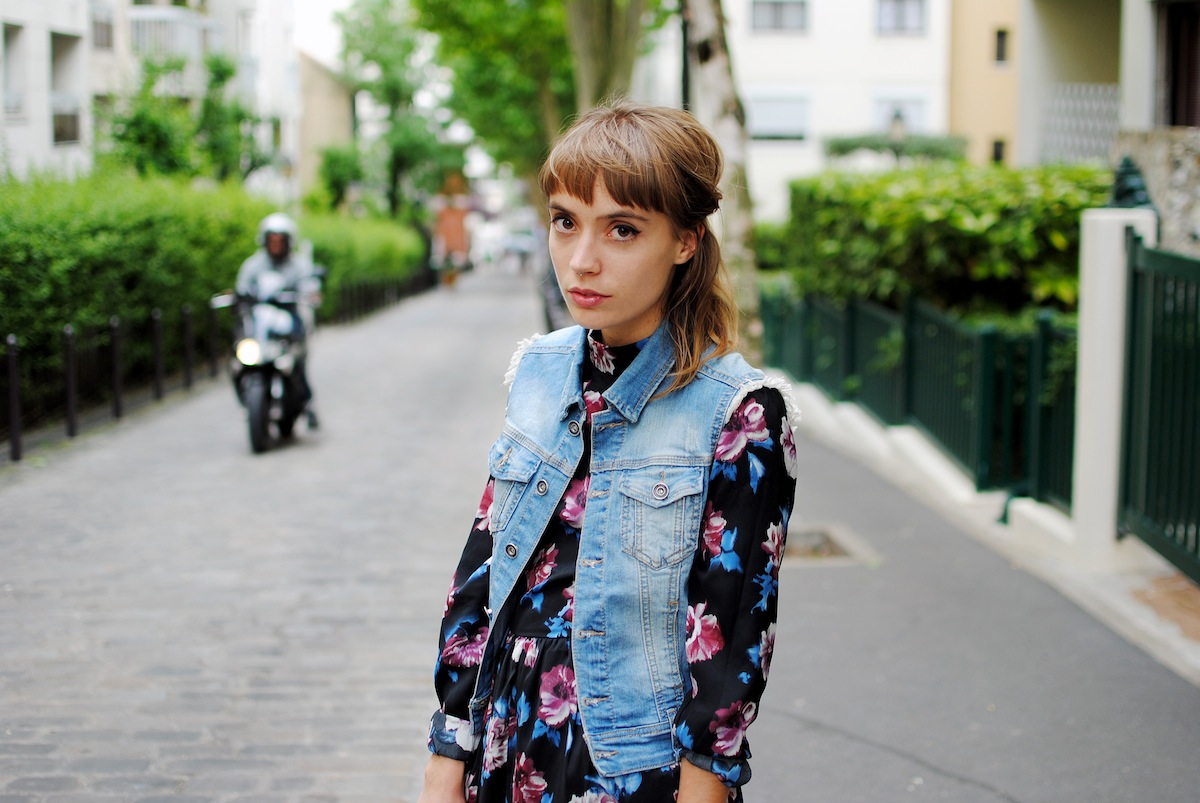 blog mode paris combi à fleurs