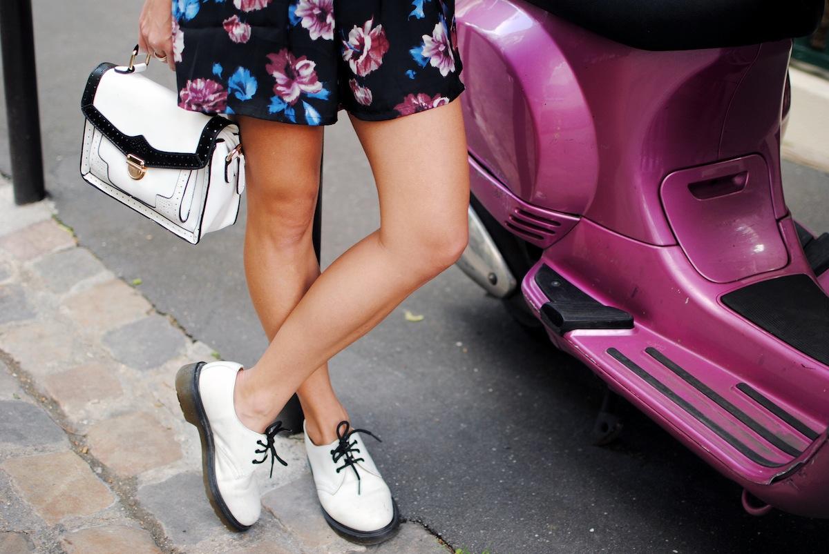 blog mode paris combinaison à fleurs