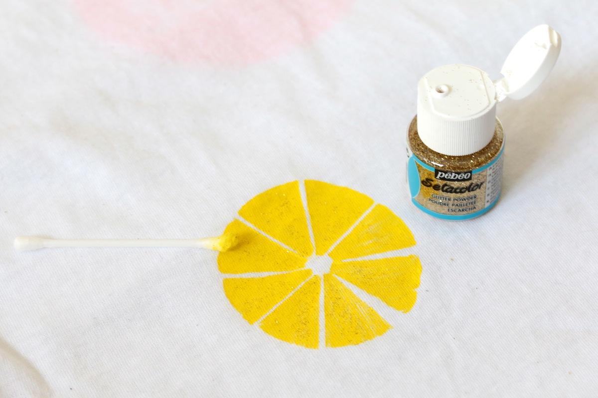 diy imprimé citron
