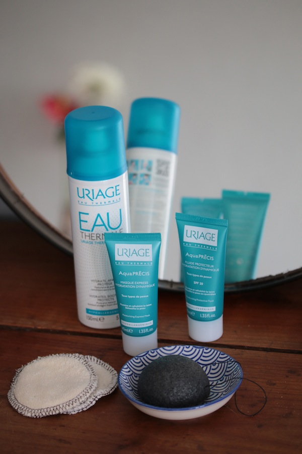 routine hydration avec uriage