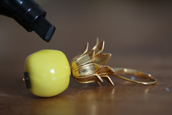boucles doreilles ananas