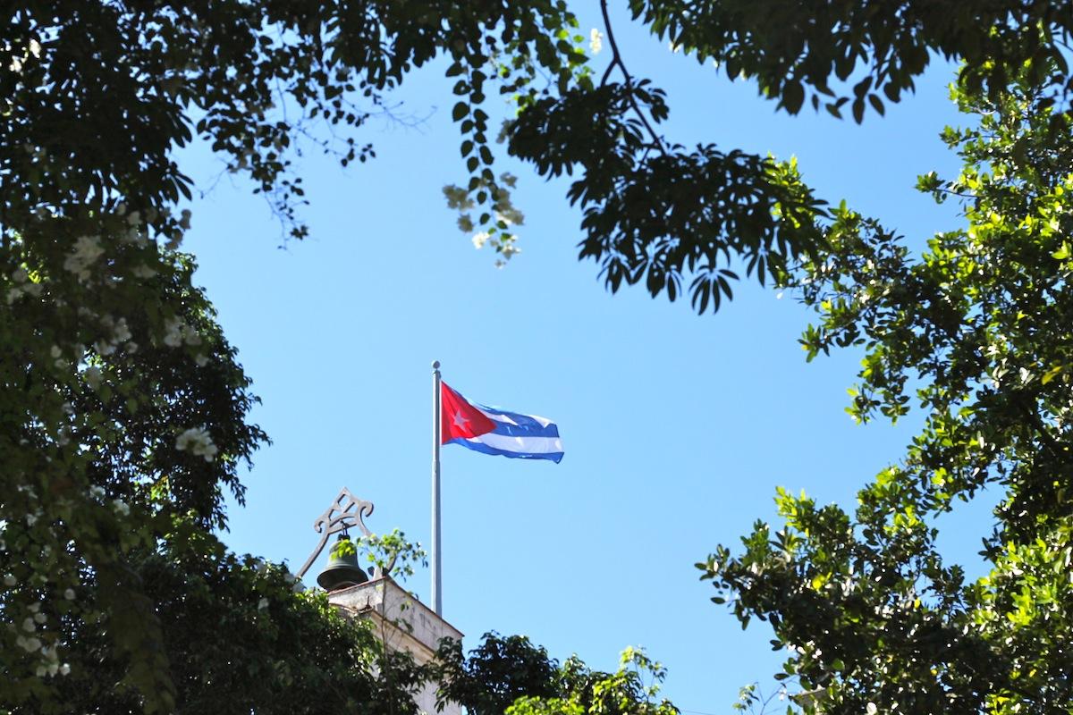 carnet d'image cuba drapeau