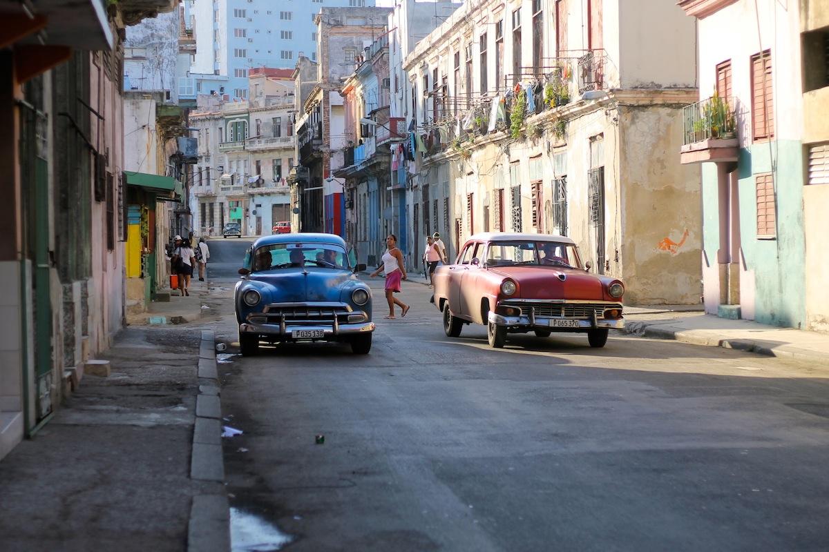 carnet d'image cuba la havane et ses vieilles voitures