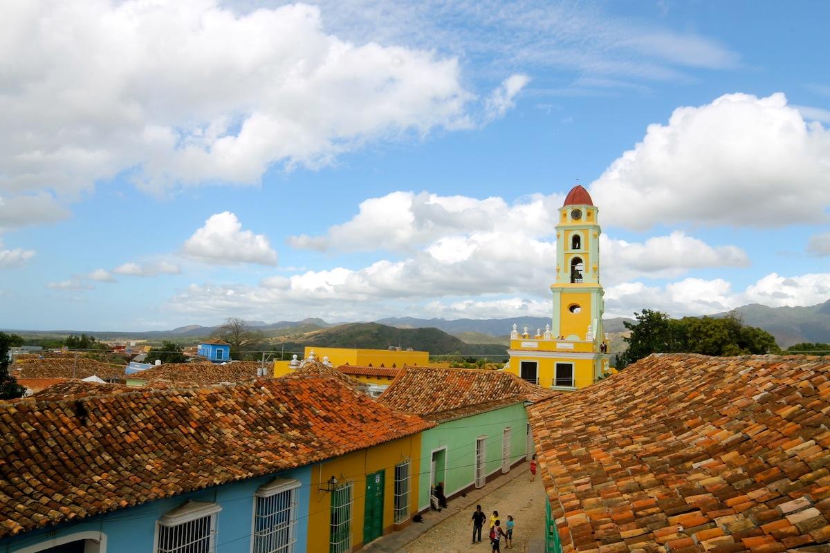 carnet d'image cuba trinidad les maisons