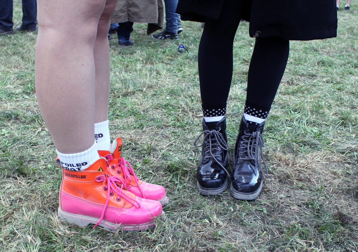 caterpillar boots rock en seine